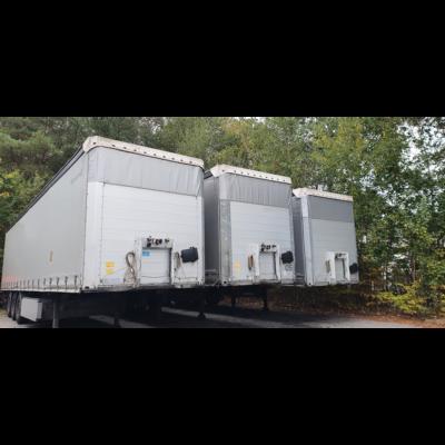 vierkant vrachtwagens
